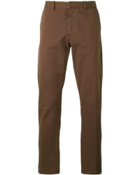 Pantalón chino marrón de AMI Alexandre Mattiussi