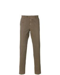 Pantalón chino marrón de Berwich