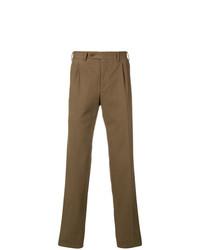 Pantalón chino marrón de Canali