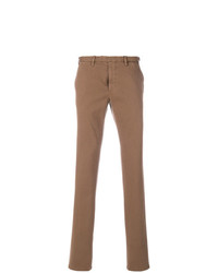 Pantalón chino marrón de Dell'oglio