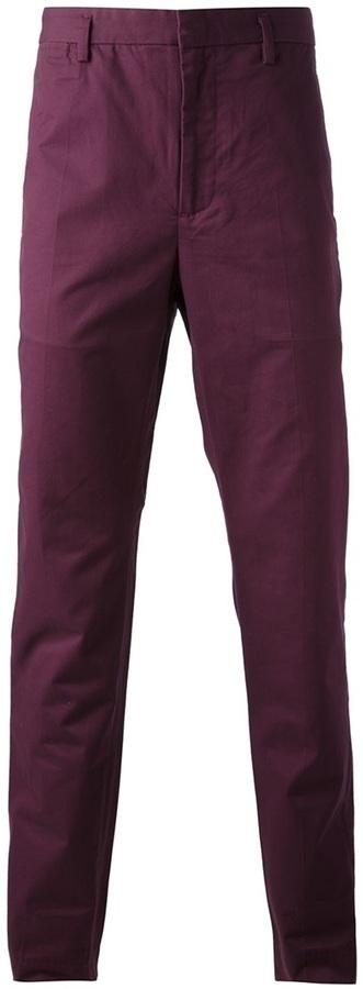 Pantalón chino morado oscuro de Marc by Marc Jacobs