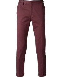 Pantalón chino morado de Paul Smith