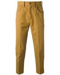 Pantalón chino mostaza