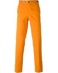 Pantalón chino naranja