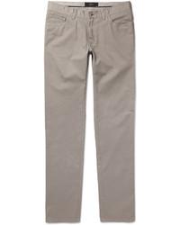 Pantalón chino plateado de Brioni