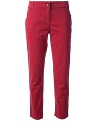 Pantalón chino rojo