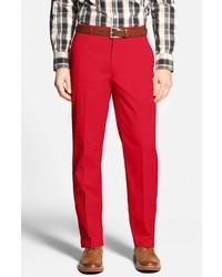 Pantalón chino rojo de Bobby Jones
