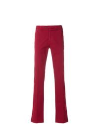 Pantalón chino rojo de Canali