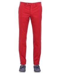Pantalón chino rojo de G・T・A