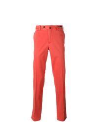 Pantalón chino rojo de Pt01
