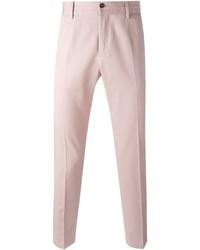 Pantalón chino rosado de Dolce & Gabbana