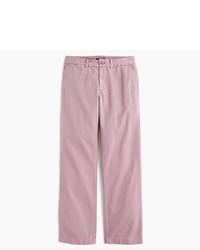 Pantalón chino rosado de J.Crew