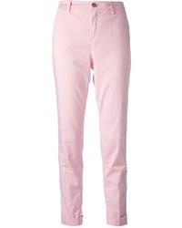 Pantalon chino rose Fay