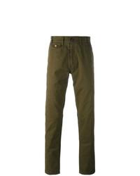 Pantalón chino verde oliva de Barbour