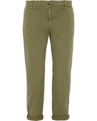 Pantalón chino verde oliva de Current/Elliott