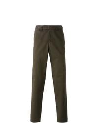 Pantalón chino verde oliva de Fashion Clinic Timeless