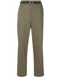 Pantalón chino verde oliva de Golden Goose Deluxe Brand