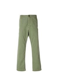 Pantalón chino verde oliva de Gucci