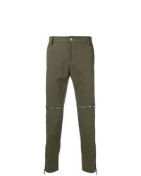 Pantalón chino verde oliva de Les Hommes Urban