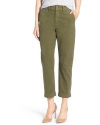 Pantalón chino verde oliva de Madewell