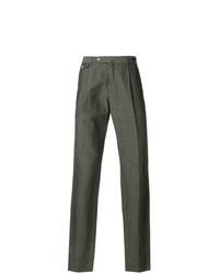 Pantalón chino verde oliva de Pt01