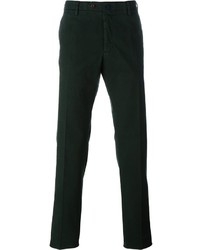 Pantalón chino verde oscuro de Incotex