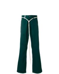 Pantalón chino verde oscuro de Societe Anonyme