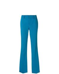 Pantalón de campana azul de Marni