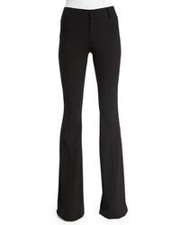 Pantalón de Campana de Lana Negro de Tom Ford