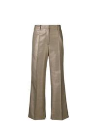 Pantalón de campana dorado de Golden Goose Deluxe Brand