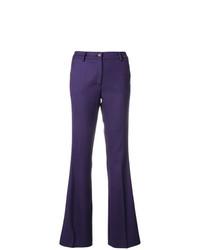Pantalón de campana en violeta de P.A.R.O.S.H.