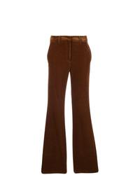 Pantalón de campana marrón de Etro