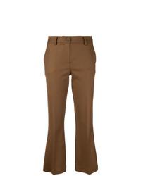 Pantalón de campana marrón de P.A.R.O.S.H.