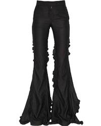 Pantalón de Campana Negro de Marco De Vincenzo