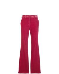 Pantalón de campana rosa de Etro