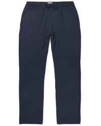 Pantalón de chándal azul marino de Derek Rose