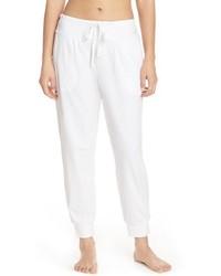 Pantalón de chándal blanco de DKNY
