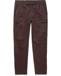 Pantalón de chándal burdeos de Dolce & Gabbana