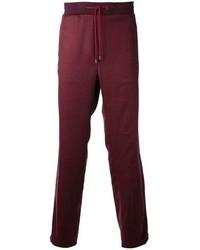Pantalón de chándal burdeos de Maison Martin Margiela