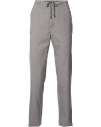 Pantalón de chándal de lana gris de Maison Margiela
