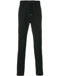 Pantalón de chándal de lana negro de Diesel