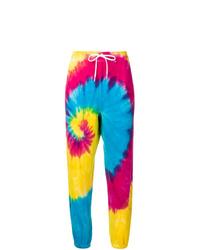 Pantalón de chándal efecto teñido anudado en multicolor de Polo Ralph Lauren