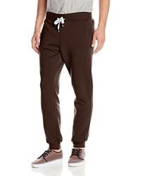 Pantalón de chándal en marrón oscuro