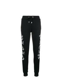 Pantalón de chándal en negro y blanco de Philipp Plein