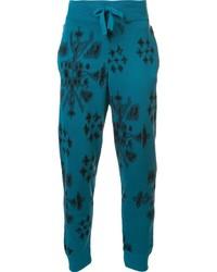 Pantalón de chándal en verde azulado de Baja East