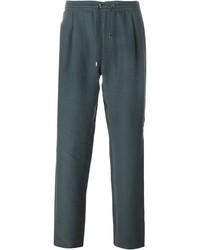 Pantalón de chándal en verde azulado de Brioni