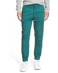 Pantalón de chándal en verde azulado de Katin