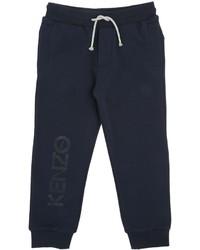 Pantalón de chándal estampado azul marino de Kenzo