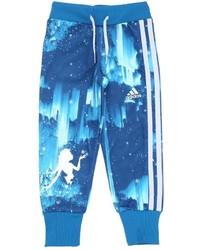 Pantalón de chándal estampado azul de adidas