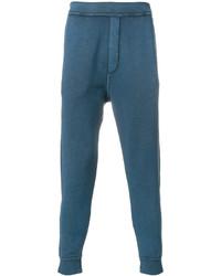 Pantalón de chándal estampado en verde azulado de DSQUARED2